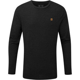 tentree TreeBlend Classic T-shirt Manches longues Homme, meteorite black heather